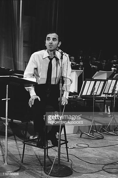 """Charles Aznavour """"Palmares de la chanson"""" in 1966"""