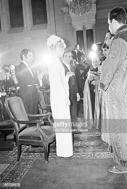 Charles Aznavour Remarries Ulla Thorsell Le 12 janvier 1968 en l'église arménienne SAINTGREGOIRE L'ILLUMINATEUR lors de leur remariage Ulla THORSELL...
