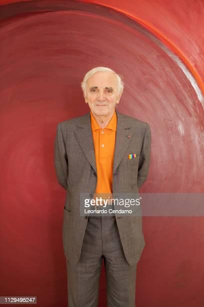 Charles Aznavour songwriter Mantova Italy 2010