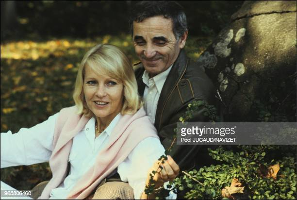 Charles Aznavour with Ulla