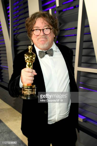Charles B Wessler winner of Best Picture for 'Green Book' attends the 2019 Vanity Fair Oscar Party hosted by Radhika Jones at Wallis Annenberg Center...