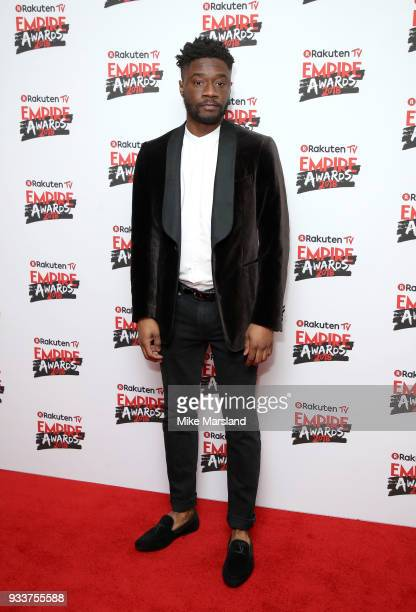 Charles Babalola attends the Rakuten TV EMPIRE Awards 2018 at The Roundhouse on March 18 2018 in London England