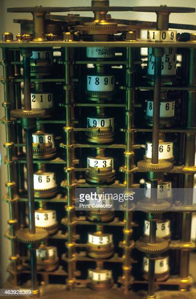 Charles Babbage's Difference Engine No 1 prototype calculating machine 18241832 English mathematician Charles Babbage first conceived the idea of an...