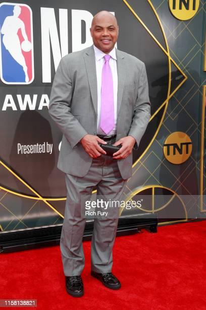 Charles Barkley attends the 2019 NBA Awards at Barker Hangar on June 24 2019 in Santa Monica California