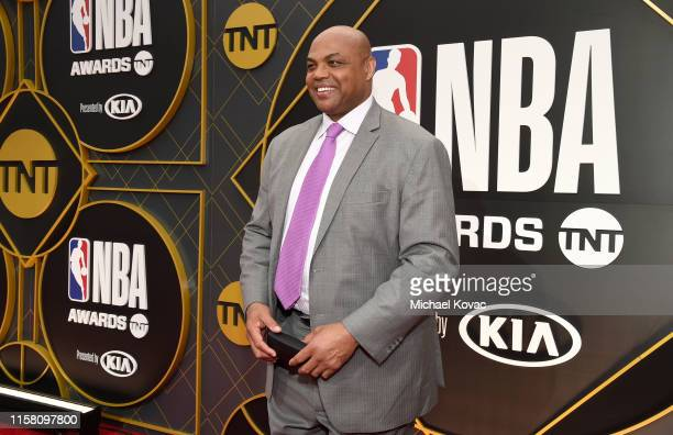Charles Barkley attends the 2019 NBA Awards presented by Kia on TNT at Barker Hangar on June 24 2019 in Santa Monica California