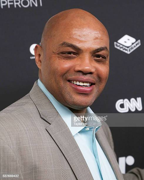 Charles Barkley attends the Turner Upfront 2016 arrivals at The Theater at Madison Square Garden on May 18 2016 in New York City