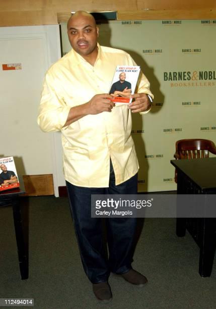 Charles Barkley during Charles Barkley Signs His Book 'Who's Afraid of a Large Black Man' at Barnes Noble in New York City at Barnes Noble in New...