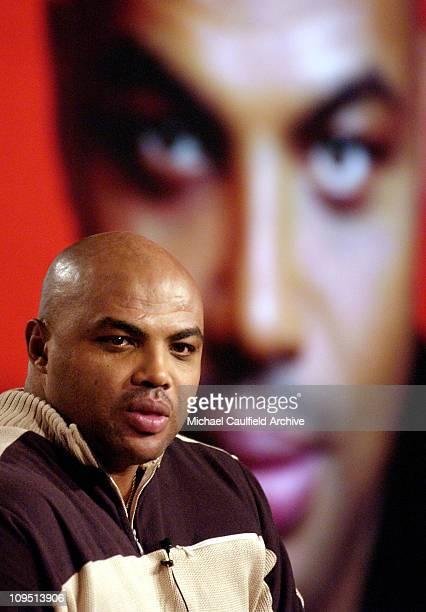 Charles Barkley during The 2003 National Cable Telecommunications Assn Press Tour Turner Broadcasting 'Listen Up' NBA AllStar Game Panel at The...