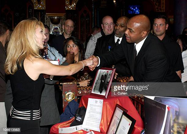 Charles Barkley during Tiger Jam V Silent Auction at Mandalay Bay Events Center in Las Vegas Nevada United States