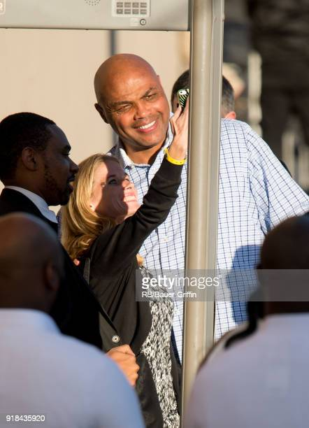 Charles Barkley is seen at 'Jimmy Kimmel Live' on February 14 2018 in Los Angeles California