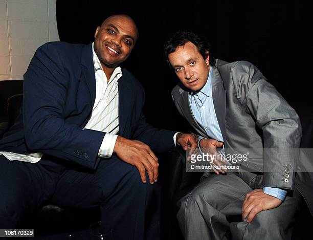 Charles Barkley of NBA on TNT Halftime Report Presented by Verizon Wireless with Pauly Shore of TBS's Minding the Store 9014_0051jpg