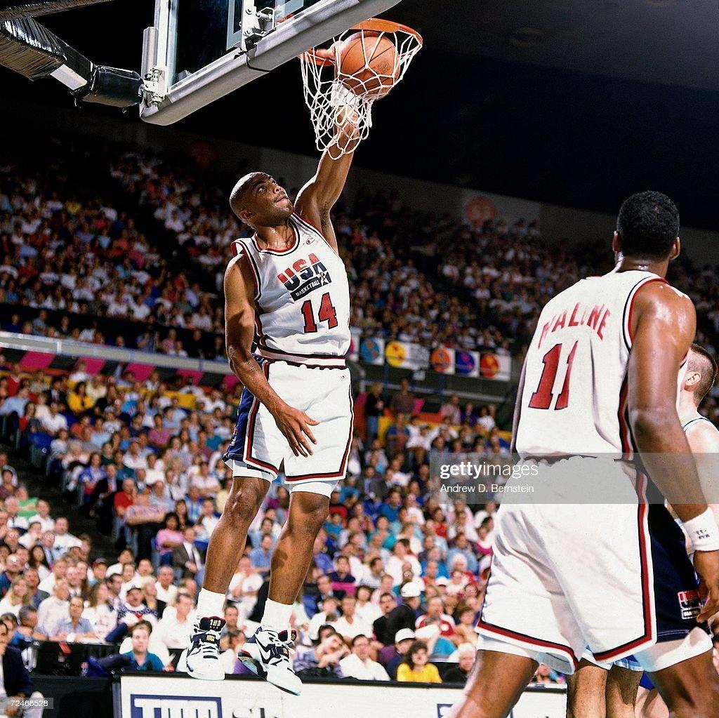 1992 Olympics: United States National Basketball Team : ニュース写真