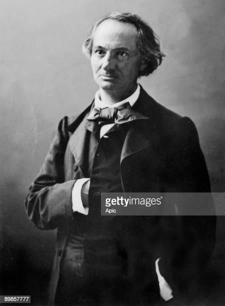Charles Baudelaire french poet photo by Gaspard Felix Tournachon dit Felix Nadar
