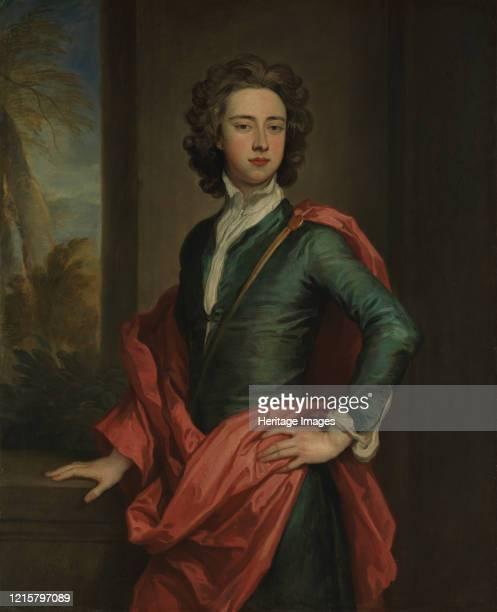 Charles Beauclerk , Duke of St. Albans, circa 1690-95. Artist Sir Godfrey Kneller.