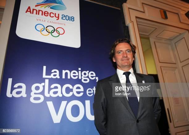 Charles Beigbeder - - Fondation du groupement d'interet public - Nomination de Charles Beigbeder comme president du Comite de candidature d'Annecy...