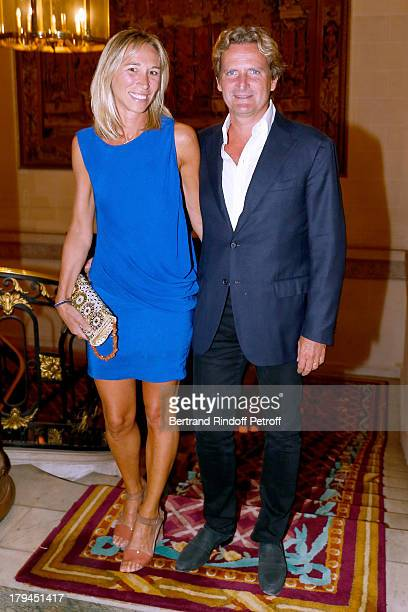 Charles Beigbeder and his wife Carine attend Lui Magazine Launch Party held at Foch Avenue in Paris at on September 3 2013 in Paris France