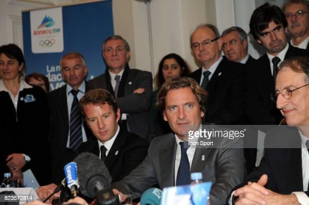 Charles BEIGBEDER / Jean Pierre VIDAL - - Fondation du groupement d'interet public - Nomination de Charles Beigbeder comme president du Comite de...