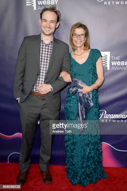 Charles Belt and Annie Griffiths attend The 22nd Annual Webby Awards at Cipriani Wall Street on May 14 2018 in New York City