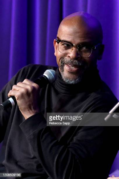 Charles Berry Jr speaks onstage at Reel To Reel Chuck Berry Brown Eyed Handsome Man at the GRAMMY Museum on February 24 2020 in Los Angeles California