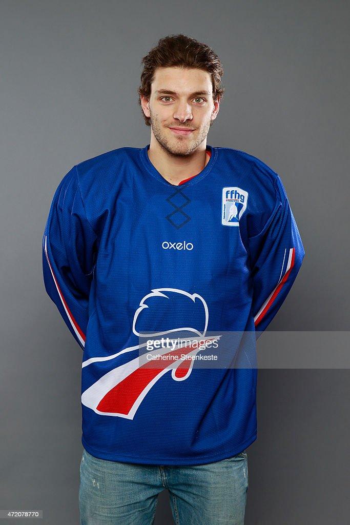 French Men's National Hockey Team Photo Shoot : News Photo