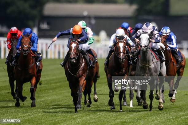 Jockeys Christope Soumillon and William Buick on day 1 of Royal Ascot at Ascot Racecourse on June 19 2018 in Ascot England