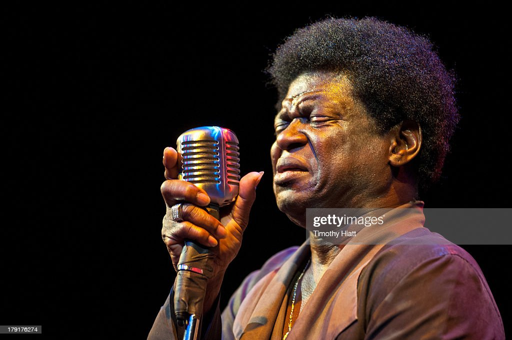 Charles Bradley performs on stage during the Bumbershoot music festival at Seattle Center on August 31, 2013 in Seattle, Washington.