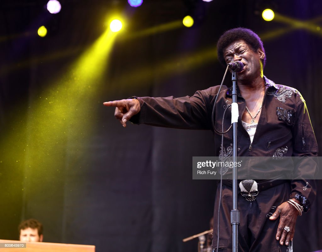 Charles Bradley performs on the Sycamore stage during Arroyo Seco Weekend at the Brookside Golf Course at on June 24, 2017 in Pasadena, California.