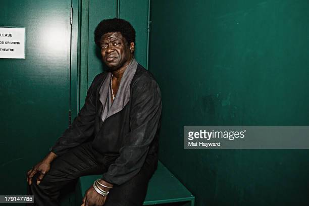 Charles Bradley poses for a photo before his performance during the Bumbershoot music festival at Seattle Center on August 31 2013 in Seattle...