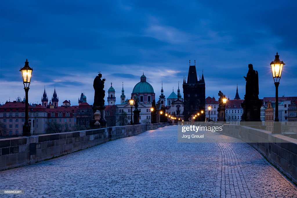 Charles Bridge : Stock Photo