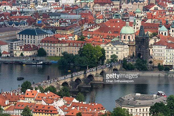 Charles Bridge , Prague , Czech Republic