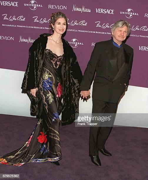 Charles Bronson and his wife Kim Weeks.