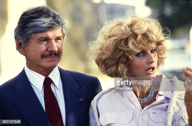 Charles Bronson and Jill Ireland act in the movie Assassination, the last movie she made until she later succumbed to Cancer 1988