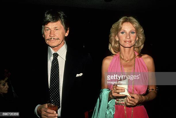 Charles Bronson and Jill Ireland circa 1979 in New York City.