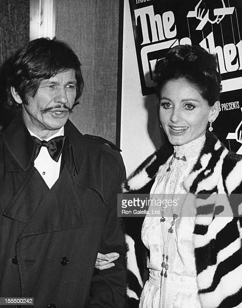 Charles Bronson and Jill Ireland during Charles Bronson File Photos, United States.