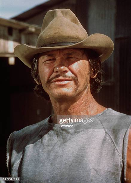 Charles Bronson as he appears in the 1975 motion picture Breakout