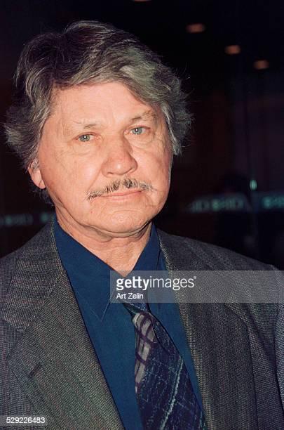 Charles Bronson closeup circa 1990 New York