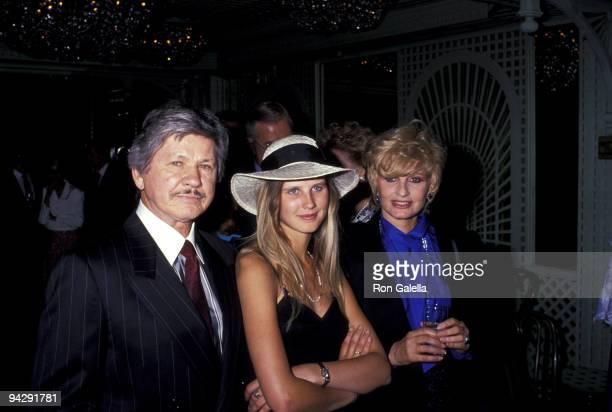Charles Bronson daughter Zuleika and Jill Ireland