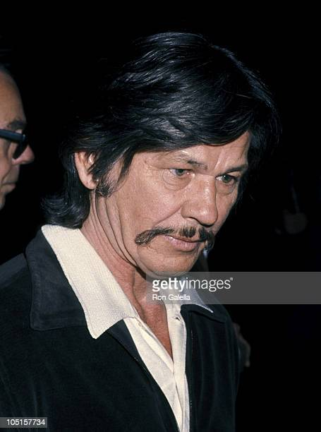 Charles Bronson during 48th Annual Academy Awards Rehearsals at Dorothy Chandler Pavilion in Los Angeles California United States