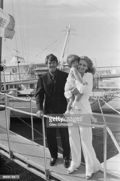 Charles Bronson his wife Jill Ireland and their duaghter Zuleika