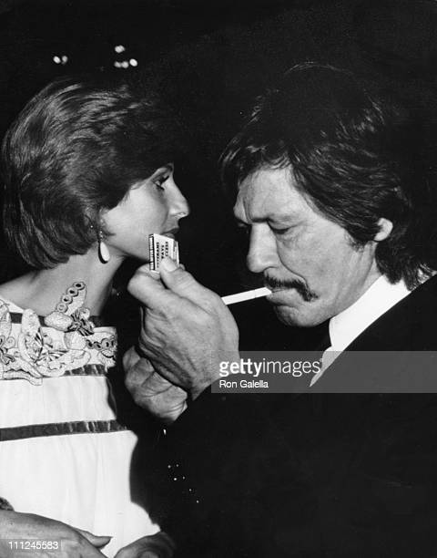 Charles Bronson Wife during AFI Tribute To Orson Welles at Unknown Venue in Unknown Unknown United States