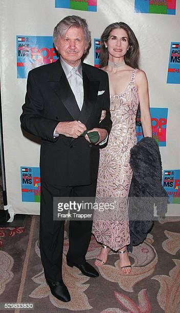 Charles Bronson with his wife Kim Weeks.