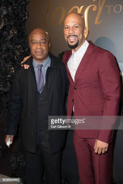 Charles Burnett and Common attend Toast To The Arts Presented By Remy Martin at Ysabel on March 2 2018 in West Hollywood California