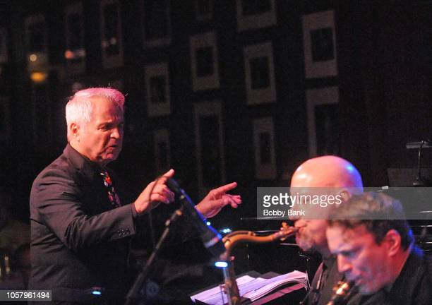 Charles Calello and his Band performs at Birdland Jazz Club on November 5 2018 in New York City