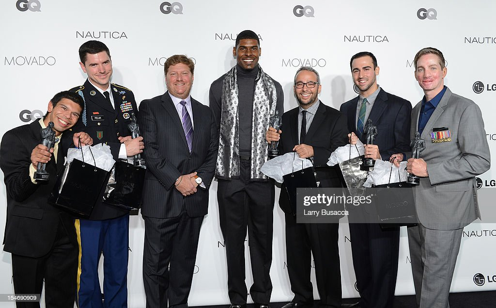 The 2012 GQ Gentlemen's Ball Presented by LG, Movado, and Nautica - Red Carpet
