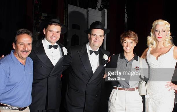 Charles Camarda Hunter Foster Brad Oscar Eileen Collins and Angie Schworer