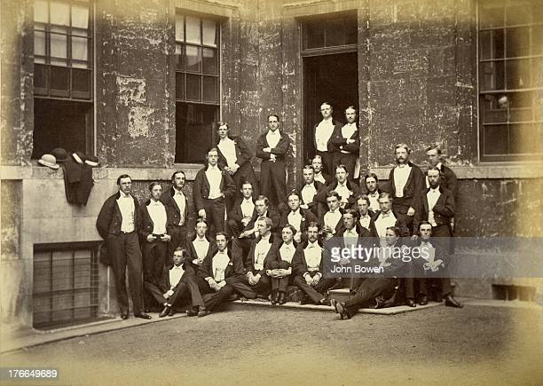 CONTENT] Charles Cecil Cotes the album compiler is standing at far left Standing at back in the corner with arms folded is Archibald Philip Primrose...