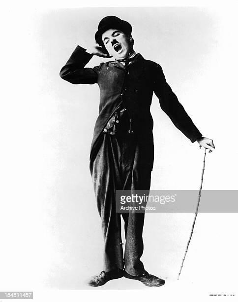 Charles Chaplin in a publicity portrait Circa 1915