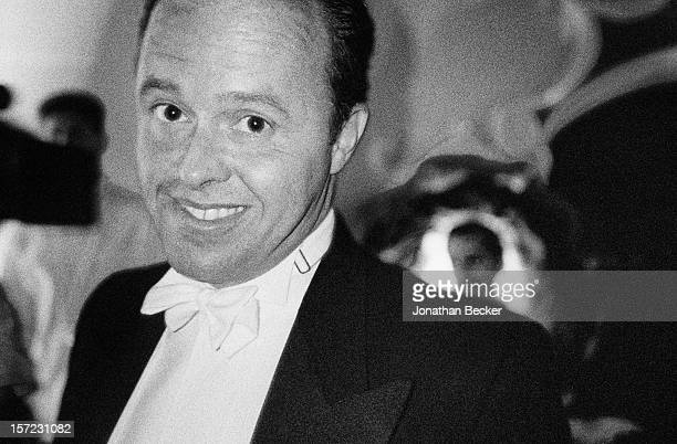 Charles Churchward is photographed for Vanity Fair Magazine on September 9 1993 at Vanity Fair's 10 Anniversary Party in New York City PUBLISHED IN...