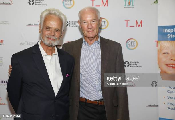 Charles Clapsaddle and Judge Durand Adams attend the 2019 Sarasota Film Festival on April 14 2019 in Sarasota Florida
