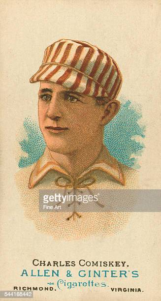 Charles Comiskey of the St Louis Browns 1887